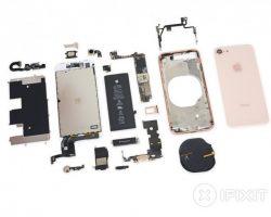 iFixit оценили ремонтопригодность смартфона iPhone 8 в 6 баллов из 10