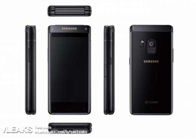 Самсунг выпустила мощнейший смартфон-раскладушку с 2-мя экранами