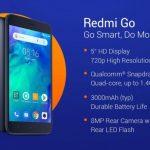 Представлен бюджетный смартфон Xiaomi Redmi Go