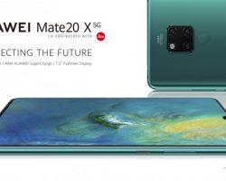 Представлен смартфон Huawei Mate 20 X 5G