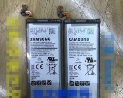В Сети появилось изображение аккумулятора Samsung Galaxy Note 8 ёмкостью 3300 мА·ч