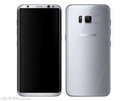 В сети появились предполагаемые официальные изображения смартфона Samsung Galaxy S8