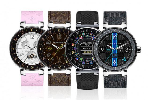 Louis Vuitton создал свои первые умные часы