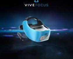 Представлена автономная гарнитура виртуальной реальности HTC Vive Focus