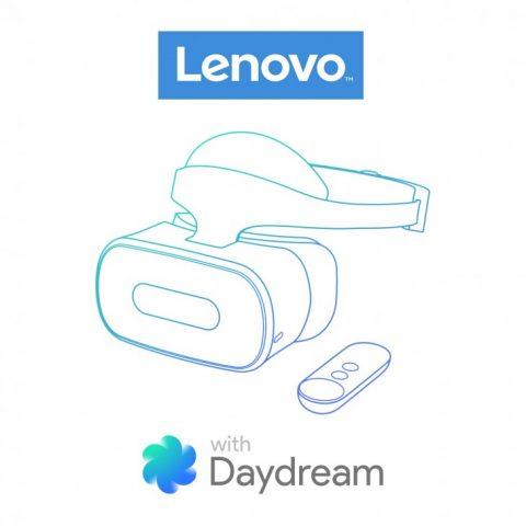 Lenovo иНТС создают «самостоятельные» шлемы Google Daydream