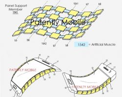 Samsung получила патент на гибкий дисплей для смартфона