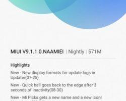 Пользовательская оболочка MIUI 9 стала доступна для смартфонов Xiaomi Mi 5 и Mi 5s Plus
