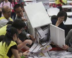 В Гонконге украдены личные данные 3,7 млн избирателей