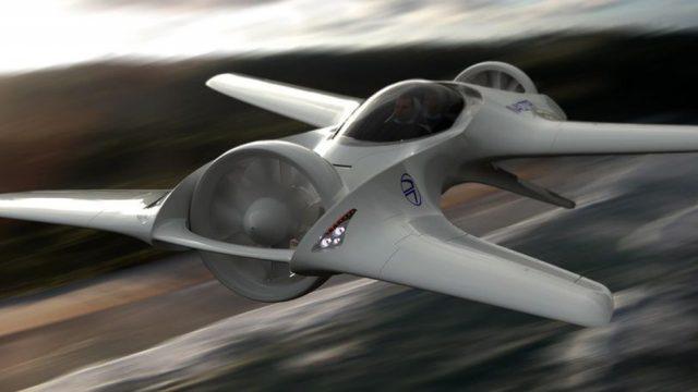 Летающий автомобиль DeLorean представят в 2018 году