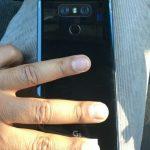 В сети появилось первое «живое» фото смартфона LG G6