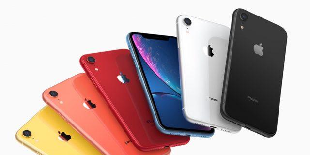 Apple iPhoneXR лидирует попродажам вСША по результатам 2-го квартала