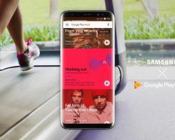 Сервис Google Play Музыка будет по умолчанию использоваться как музыкальный плеер на всех устройствах Samsung