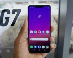 Для смартфонов LG G7 ThinQ вышло обновление до Android Pie
