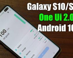 Смартфоны Samsung Galaxy S10 начали получать стабильную версию Android 10