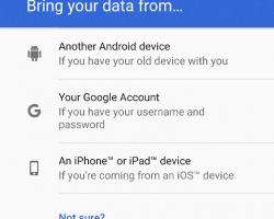 Как перейти с iOS на Android 7.0