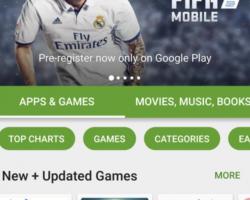 Google тестирует изменения пользовательского интерфейса Play Маркет