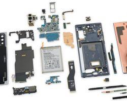 iFixit оценили ремонтопригодность Galaxy Note 10+ 5G в 3 балла из 10