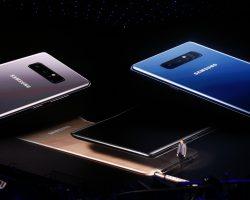 Представлен смартфон Galaxy Note 8