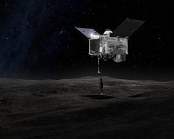 Космический зонд OSIRIS-REx сделал снимок Земли и Луны с расстояния 114 000 000 км