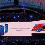 Huawei показала свой смартфон с гибким дисплеем Mate X