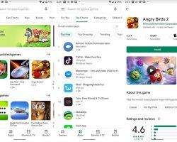 Магазин приложений Google Play получил новый дизайн