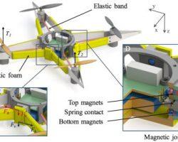 Ученые работают над дронами, которые не будут ломаться при падении