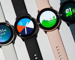 Для умных часов Samsung Galaxy Watch Active доступно обновление