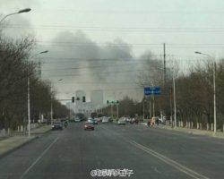 Пожар на заводе Samsung SDI в Китае