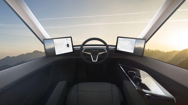 Стала известна цена фургонов Tesla