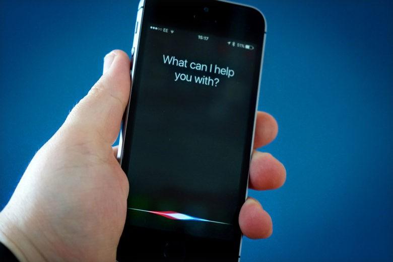 Siri – находка для вора