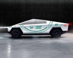 Полиция Дубая может добавить пикап Tesla Cybertruck в парк своих автомобилей