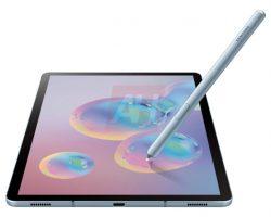 Стали известны характеристики планшета Samsung Galaxy Tab S6