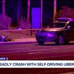 Беспилотный автомобиль Uber насмерть сбил велосипедистку