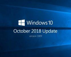 Microsoft снова распространяет обновление Windows 10 October 2018