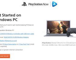 Игры PlayStation теперь доступны на ПК с ОС Windows