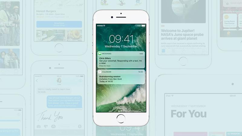 Как изменить функции экрана блокировки iOS 10
